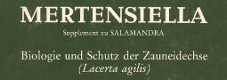 Mertensiella Band 1: Biologie und Schutz der Zauneidechse