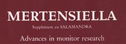 Mertensiella Band 2: Advances in monitor research