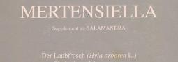 Mertensiella Band 6: Der Laubfrosch