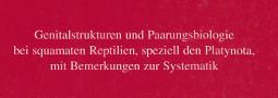 Mertensiella Band 8: Paarungsbiologie bei squamaten Reptilien