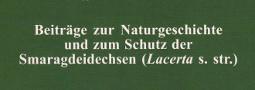 Mertensiella Band 13: Schutz der Smaragdeidechsen