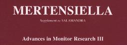 Mertensiella Band 16: Advances in Monitor Research III