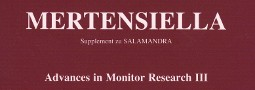 Mertensiella Band 16: Advances in Monitor Research III