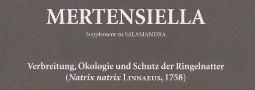 Mertensiella Band 17: Verbreitung, Ökologie und Schutz der Ringelnatter