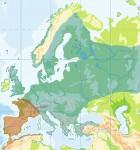 Verbreitungskarte der Erdkröte in Europa