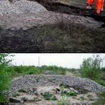 Der Bau von Steinriegeln als Ausgleichsmaßnahme