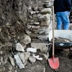 Anlegen von Trockenmauern als Lebensraum