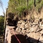 Beispiel einer Trockenmauer