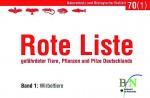 Band 1 der Roten Liste Deutschland, herausgegeben vom Bundesamt für Naturschutz (BfN)
