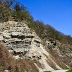 Kalksteinfelsen als Lebensraum der Mauereidechse (Podarcis muralis), Igel, Mosel, 22.04.2013, Foto: Ulrich Schulte