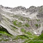 Lebensraum und höchster Fundort des Alpensalamanders (Salamandra atra), Hintersteiner Tal, Bayern, Deutschland, 1.910 m ü. NN, Foto: Ulrich Schulte