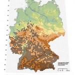 Verbreitung der Gelbbauchunke in Deutschland