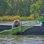 Die Reusenfischerei ist eine potenzielle Gefahr für die Schildkröten; Foto: R. Podloucky