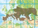 Gesamtverbreitungsgebiet der Europäischen Sumpfschildkröte (ohne eingeschleppte und wiederangesiedelte Bestände)