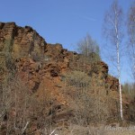 Lebensraum von Coronella austriaca austriaca, Naturreservat Haardt, Dudelange, Distrikt Luxemburg, Kanton Esch an der Alzette, 03.04.2012, Foto R. Proess.