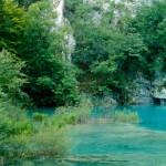 Lebensraum Iberolacerta horvathi, Felsbereiche am Jezero Gavanovac im Nationalpark Plitvička jezera, Istarska županija, 21.08.1990, Foto: A.+Ch. Nöllert.