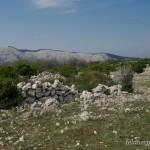Lebensraum Vipera ammodytes ammodytes, Karstplateau bei Draga Bascanska, Potok Krk, Primorsko-goranska županija, 09.04.2009, Foto: A.+Ch. Nöllert.