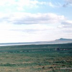 Lebensraum von Alsophylax pipiens – im Hintergrund der ca. 200 m hohe Hügel Bolschoje Bogdo, Astrachanskaja oblast, Juschny federalny okrug, 29.05.2004, Foto S. N. Litvinchuk.