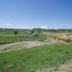 Lebensraum Mauremys caspica caspica, Zufluss zum Maschawera nördlich von Schulaweri, Kwemo Kartlis Mchare, 15.05.2007, Foto: C. Riegler