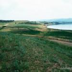 Lebensraum Lacerta strigata, Kumisi-See östlich von Koda am westlichen Rand der Mt'k'vari-(Kura) Niederung, Kwemo Kartlis Mchare, 09.06.2002, Foto: W. Bischoff.