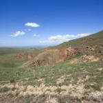 Lebensraum Eryx jaculus familiaris, Steppe in der Umgebung des Klosters Dawit Garedscha, Kachetis Mchare, 17.05.2007, Foto: c. Riegler.