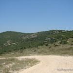 Lebensraum Montivipera xanthina, Loutros (ca. 14 km nordöstlich Alexandroupoli), Anatoliki Makedonía ke Thraki,14.06.2012, Thrakien, Foto: J. Vetter.