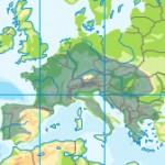 Aktuelles Verbreitungsgebiet des Feuersalamanders in Europa